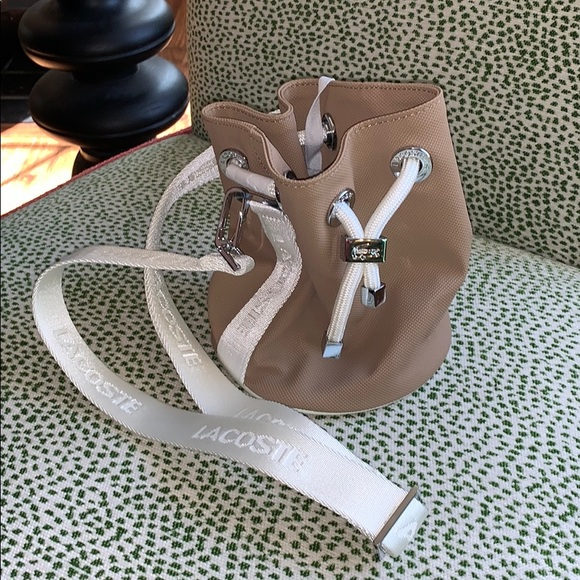 Lacoste Handbags - Lacoste small bucket bag